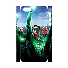 JUDUIDODO Green Lantern 3D Plastic Cases for iPhone5,5s