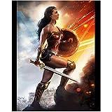 #8: Gal Gadot as Diana in Wonder Woman Walking Up Steps into Battle 8 x 10 Inch Photo