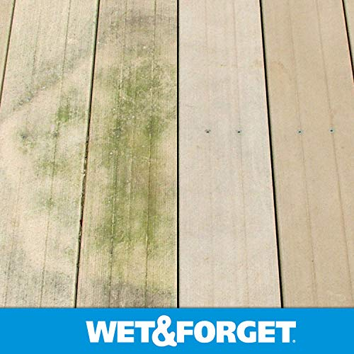 Wet & Forget Outdoor Ready To Use Moss, Mold, Mildew & Algae Stain Remover, 64 OZ. - 804064 by WET & FORGET (Image #2)