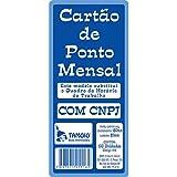 CARTÃO DE PONTO MENSAL C/100UN. TAMOIO