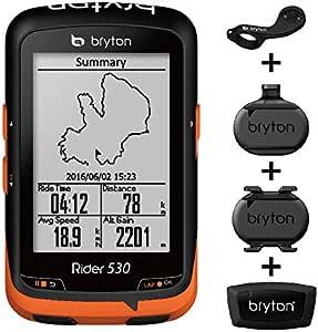 Bryton Rider 530 GPS ordenador Ciclismo: Amazon.es: Deportes y ...