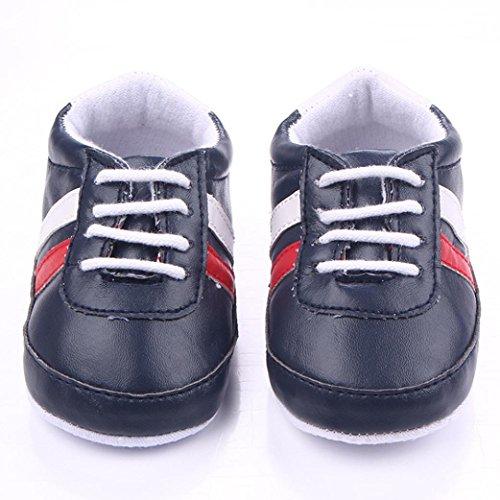 Schwarz Schuhe Weiche Prewalker Sohle Clode® Baby Neugeborenen Mädchen Krippe Patchwork Jungen Infant nPOqp6