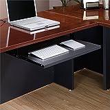Pemberly Row Keyboard Shelf in Soft Black