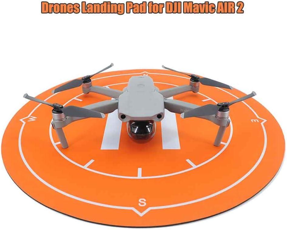 better18 Drones Landing Pad 50cm Universal Waterproof Drone Accessories Portable Landing Pads for DJI Mavic Air 2