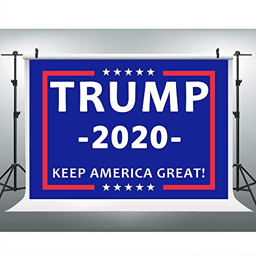 Trump 2020 President America Great Photography Backdrop for Party, 9X6FT, US Election Republican Campaign Background, Photo Booth Event Props LHLU396 (Americas Best Event Photography)
