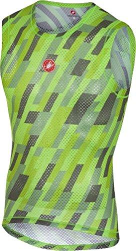 Castelli Pro Mesh Sleeveless Baselayer - Men's Pro Green, L