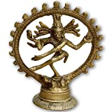 ShalinIndia Natraj Shiva Tandav Metal Sculpture