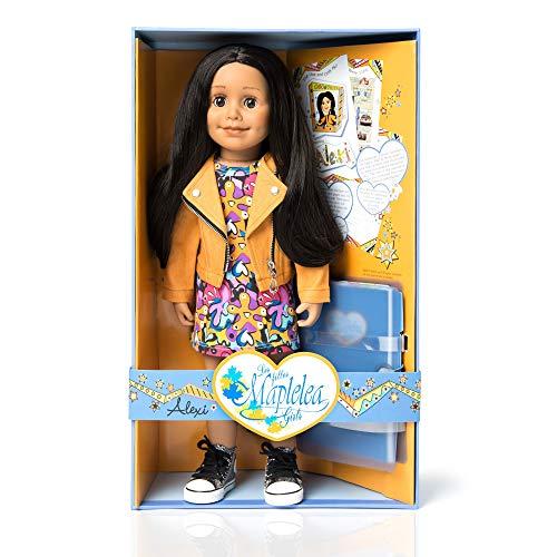 ch Doll (Long Black/Brown Hair, Medium Skin, Brown Eyes) ()