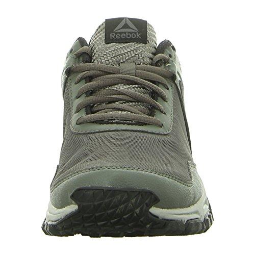 Reebok ridgerider Trail 3.0–Scarpe da ginnastica, Uomo, Grigio–(Ironstone/Stark GRY/Ash GRY/Black/Bright)