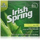 Irish Springs Aloe Bath Soap, 3.75 Oz. Bars, (2) 3 Bar Packages