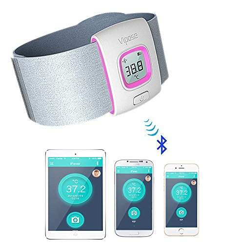 Bluetooth Intelligent Skin friendly Thermometer Temperature