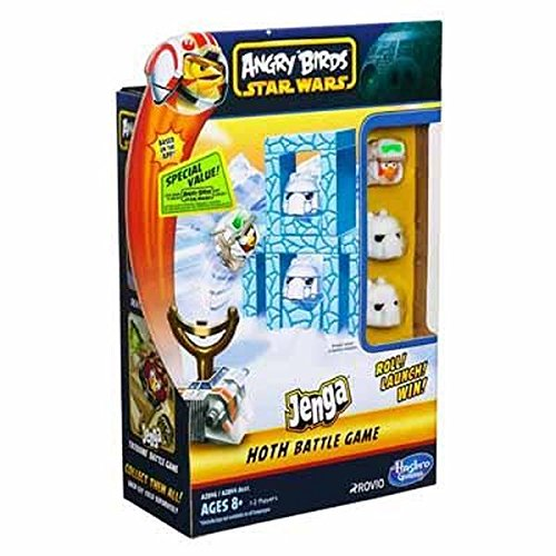 Angry Birds Star Wars Jenga Hoth Battle Game -