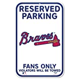 MLB Atlanta Braves 11-by-17 Sign