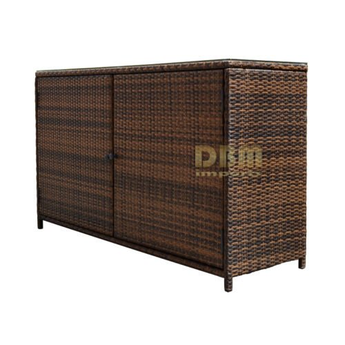 59 X 18 Quot Wicker Serving Buffet Table Bar Counter Pool