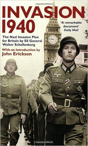 Invasion 1940: The Nazi Invasion Plan for Britain: Amazon.es: Schellenberg, Walter: Libros en idiomas extranjeros