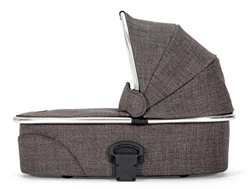 Mamas & Papas 2015 Urbo2 Carrycot Bassinet Chrome - Chestnut Tweed
