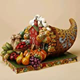 Jim Shore Country Bounty - Cornucopia Diorama Figurine