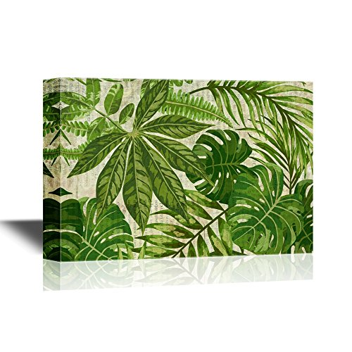 Green Leaves of Tropical Plants Gallery