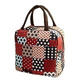 Tote Picnic Lunch Cool Bag Cooler Box Handbag Pouch, Picnic Lunch Cool Bag Cooler Box Handbag Pouch (Red)