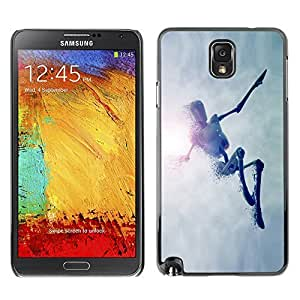 GagaDesign Phone Accessories: Hard Case Cover for Samsung Galaxy Note 3 - Jumping Robot