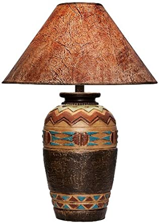 Wild west handcrafted southwest table lamp amazon wild west handcrafted southwest table lamp mozeypictures Images