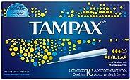 Absorventes Tampax Internos Regular, 10 Unidades