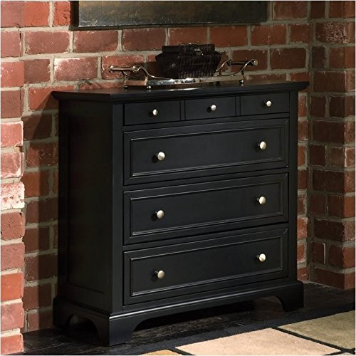 Four Drawer Chest (Home Styles 5531-41 Bedford Four Drawer Chest, Black)