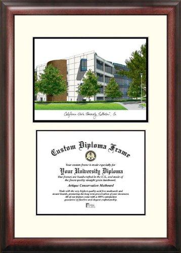 (Campus Images CA921V California State University, Fullerton Scholar Diploma Frame, 8.5