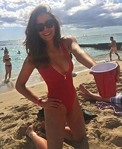 Damenmode Bikini Badeanzug, Im Freien Strand Schlanke Versammelt Sport Bademode Rot