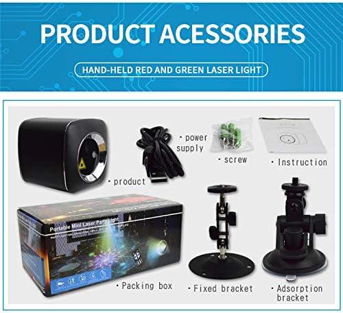 Kacsoo Mini USB Stage Light Car Starry Sky Light DJ Disco Light With Remote Control for Indoor KTV Party Bar Club