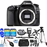 Canon EOS 80D DSLR Camera (Body Only) 1263C004 [International Version] (All You Need Kit)