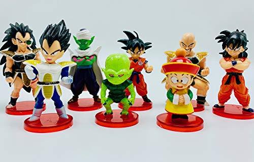 Dragon Ball Z 8 Piece Figure Play Set ()