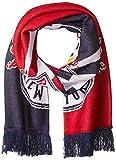 new york red bulls flag - MLS New York Red Bulls Adult Unisex MLS SP17 Fan Wear Jacquard Scarf with Fringe,Osfa,Blue