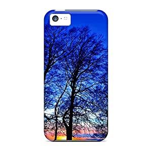 [iBbwoG2602]premium Phone Case For Iphone 5c/ Perfect Sky Trees At Sunset Tpu Case Cover