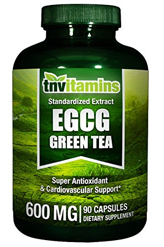 - TNVitamins Green Tea Extract 600 Mg With EGCG 90 Capsules