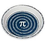 "ComputerGear Pi Day Pie Plate Math Mathematical Symbol Ceramic Pan Dish 10"""