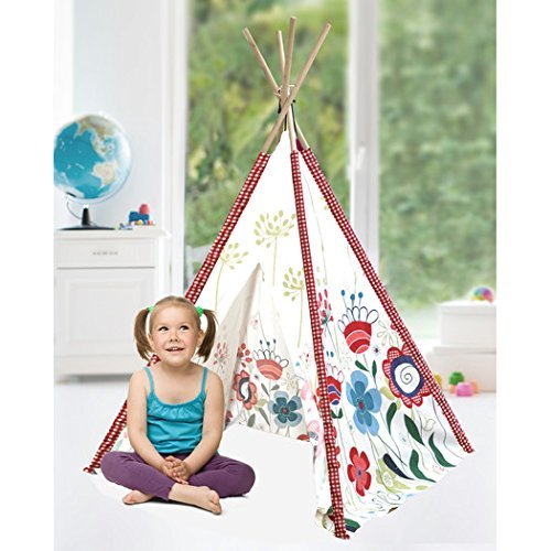 Heritage Kids Floral Play Tent, Multi