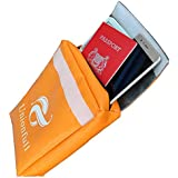 "Unionfull Fireproof Document Bag 11""x7""x2"" NON-ITCHY, Zipper Closure, Fire Resistant Envelope Pouch"
