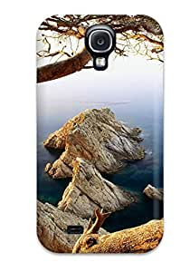 Hot Snap-on Earth Tree Hard Cover Case/ Protective Case For Galaxy S4