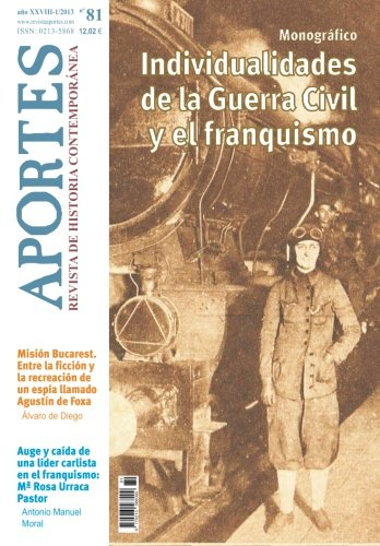 Read Online Aportes. Revista de Historia Contemporánea: Nº 81, año XXVIII (1/2013) (Spanish Edition) pdf epub
