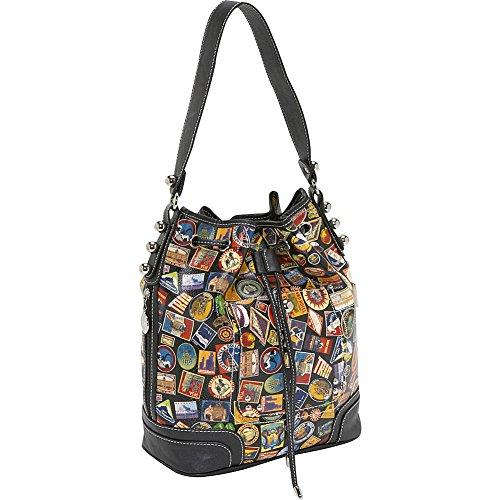 (Sydney Love Vintage Hotel Shoulder Bag,Multi,One Size)