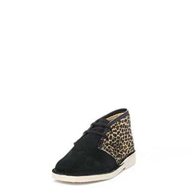 7669572d4b8cf Clarks Enfant noir Leopard Desert Bottes  Amazon.fr  Chaussures et Sacs