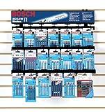 Bosch T5001R Bosch Shank Jigsaw Blade Wire Rack Merchandiser (20 Pcs)