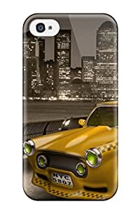 TYH - 7719960K63569017 Excellent Design Taxi To Newjersey 1080p Case Cover For Iphone 4/4s phone case