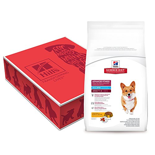 Hill's Science Diet Adult Advanced Fitness Small Bites Chicken & Barley Recipe Dry Dog Food, 38.5 lb bag
