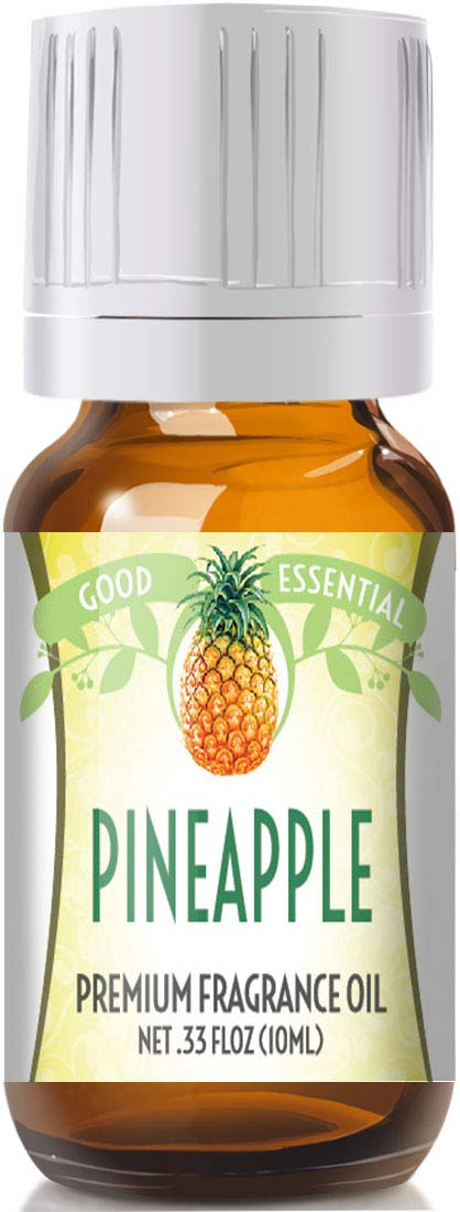 Pineapple Scented Oil by Good Essential (Premium Grade Fragrance Oil) - Perfect for Aromatherapy, Soaps, Candles, Slime, Lotions, and More!