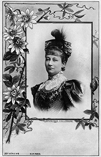 Augusta Victoria (1858-1921) Augusta Victoria Of Schlewig-Holstein German Empress And Queen Consort Of Prussia Wife Of Kaiser Wilhelm Ii Photo Postcard C1900 Poster Print by (24 x 36)