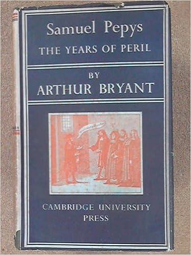 Book Samuel Pepys: The years of peril