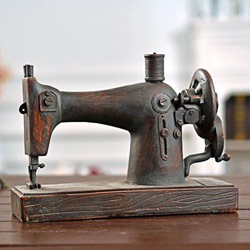 iol Vintage máquina de coser/Home/modelo de adornos de ventana de ...