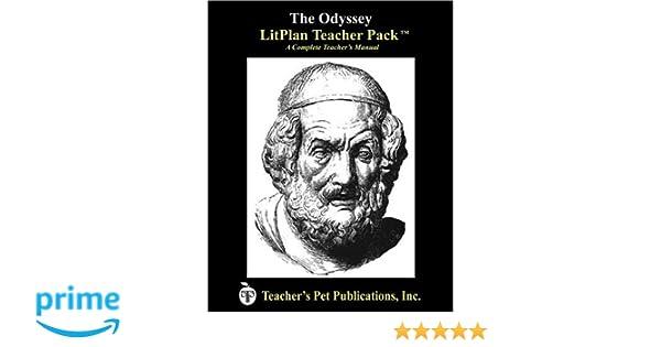 Amazon The Odyssey Litplan A Novel Unit Teacher Guide With